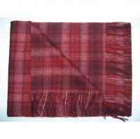 Hot salesPretty lady thicken red grey long shawl Y-09106