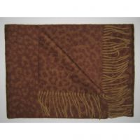 New arrival Brown long neck scarf cashmere Y-1081