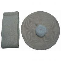Fashion Thicken thicken winter light hat&scarf sets Y04
