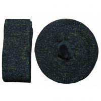 New arrival Black winter scarf&hat sets Y05