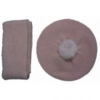 New cashmere square scarf and hat sets Y06