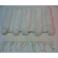 2013 New fashion milk white long shawl blankets 1254