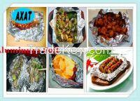 household aluminum foil for BBQ,  hot sale