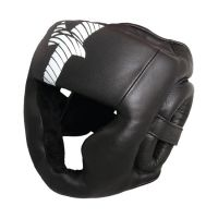 Professional Boxing Head Guard Safety Leather Karate Head Guard with Safety