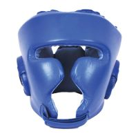 Leather Head Guards Boxing Professional Training Headgear