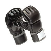 Bag Mitts Punching Gloves Leather Boxing Gloves