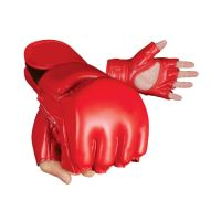 High Quality Artificial Leather MMA Grappling Gloves