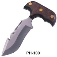 Push KNIFE Stainless Steel Blade