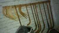 Wooden Roller Hockey Stick