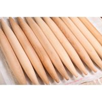 high quality wooden french embossed rolling pin for baking