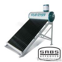 SABS solar geyser