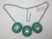 marquise shape fashion necklace