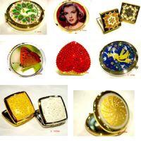 the metal cosmetic mirrors, metal pocket mirrors series