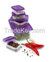 Claver Lock Food Storage Boxes