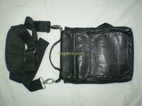 motorbike leather thigh bag