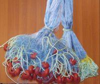 fishing nets, plastic fishing floats, ropes