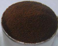 Spray-dried instant coffee