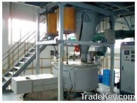 Fully automatic paste mixing machine for lead acid battery