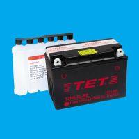 Maintenance free motorcycle battery