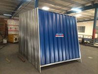 corrugated profile sheet fencing hoarding supplier in uae dubai abu dhabi qatar- dana steel