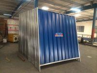 Corrugated Sheet Hoarding Fence Steel qatar oman bahrain dana steel