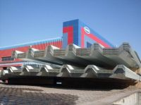 LIBYA - GI/ALUMINUM/PPGI SINGLE SKIN PROFILED ROOFING SHEETS SUPPLIER - DANA STEEL