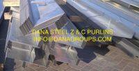 SAUDI ARABIA Trapezoidal sheet, corrugated sheet, sandwich panel, Flat panels, Z purlins, Purlins, angles, sheet metal formings