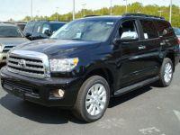 2008 Toyota Sequoia Platinum Black USA Export Car MSRP $59980