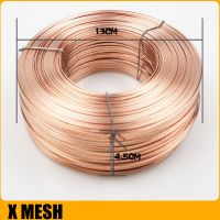 2x0.65mm galvanized flat wire