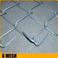 ASTM Standard Galvanized Chain Link Fencing China with 3.76mm Wire, 610g Zinc Mass