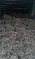 Steel wire scrap derived from the shredding of wasted tires