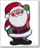 Melamine Plate for Christmas_Snowman, Father Christmas, Christmas Tree