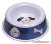 Round Pet's Melamine Bowl_for Dog or Cat, Food safe