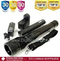 Hi-Power Rechargeable Focal Zoom LED Flashlight