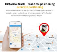 Pet dog cat GPS tracker collar