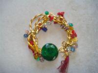 precious stone-jade -ev�±l eye bracelet