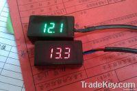 Motorcycle voltmeter