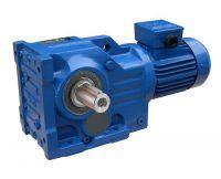 Helical-bevel Gear Motor