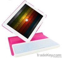360 Degree Rotating Case for iPad 3 & iPad2 with Wireless Keyboard
