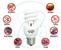 Germicidal & Air Purifying Lamp