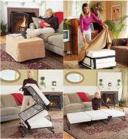iron funton ottoman guest beds with mattress