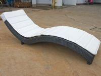 chaise lounge, rattan furniture, leisure chair, outdoor furniture