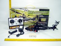 RC helicopter with light