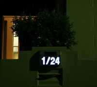 Solar House Numbers