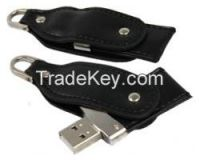 High grade leather USB flash drive pen drive