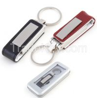 Leather USB flash drive and pen drive