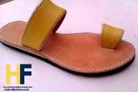 Women Handmade Leather sandals handstitched and handcrafted , thong sandals , leather sandals , women sandals , shoes , 2015 , new