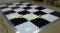 The hotest Acrylic plate LED starlit dance floor for stage
