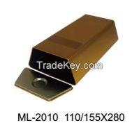 Trapezoid tin box