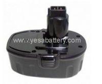 Power tool battery for         DEWALT Ni-Cd/Ni-MH 18V   DE9098